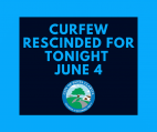 Update: City Rescinds Curfew