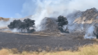 Fire Near Calgrove Boulevard, I-5 Held to 7 Acres