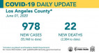 Monday COVID-19 Roundup: 113,006 Cases Statewide, 1,602 SCV Cases