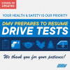 DMV to Resume Behind-the-Wheel Drive Tests on Friday