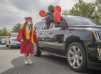 Hart Seniors Graduate in Drive-thru, Virtual Ceremonies