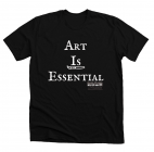 SCAA's 'Art is Essential' Shirt Fundraiser Underway