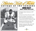 COC Hall of Famer, Former UCLA, Houston Oilers LB Avon Riley Dies at 62