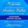 Santa Clarita Public Library to Host Final History Talks Series