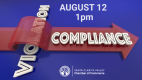 Aug. 12: Compliance Plan to Enforce Health Office Orders Webinar
