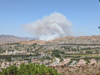 Fifty Acre Brush Fire Breaks Out in Saugus