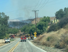 Progress Stopped on Jump Fire in Saugus; No Structures Damaged