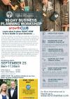 Sept. 25: GrowthCLUB Business Planning Virtual Workshop