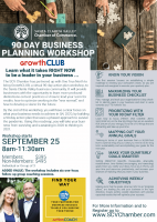 Sept. 25: GrowthCLUB Business Planning Virtual Workshop