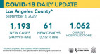 Thursday COVID-19 Roundup: 244,999 Cases Countywide, 61 New Deaths; 5,459 SCV Cases