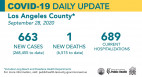 Monday COVID-19 Roundup: 268,455 Cases Countywide; SCV Cases Total 6,294