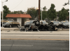 One Dead in Newhall Solo Rollover Crash