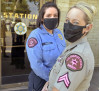 SCV Sheriff's Station Personnel Take Part in Pink Patch Project