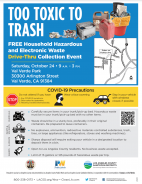 Oct. 24: Free Household Hazardous Waste & E-Waste Recycling Roundup