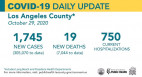 Thursday COVID-19 Roundup: 74th SCV Death; Local Cases Total 7,267