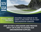 Nov. 4: SCV Groundwater Sustainability Plan Online Workshop