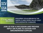 Nov. 4: SCV Groundwater Sustainability Plan Online Workshop