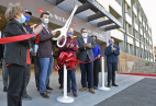 City Council Holds Ribbon-Cutting for New Vista Canyon Structure, Metrolink Station