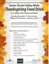 Nov. 14: Thanksgiving Food Drive Benefiting COC Students