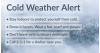 SCV Cold Weather Alert Extended Through New Year's Day