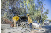 Power Cut to Sand Canyon Residents After Car Hits Power Line