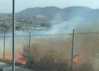 Canyon Country Fire Threatens Structures