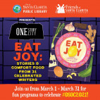 Santa Clarita Library Opens 2021 'One Story One City' Reading Program with 'Eat Joy'