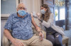 92-Year-Old COVID-19 Survivor Receives First Vaccine Dose