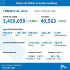 Tuesday COVID-19 Roundup: L.A. County Tops 20,000 Deaths; SCV Cases Total 25,793