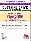 Valencia High School Band & Color Guard Holding Clothing Drive Fundraiser