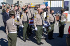 SCV Sheriff's Deputy Romo Honored with Procession