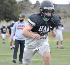 Hart District Football Players Begin COVID-19 Testing, Full-Contact Play