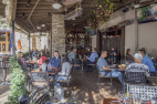 City officials say temporary alfresco dining is not planned