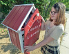 Local 11-Year-Old Builds Her Own Lending Library For The Community