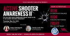 May 18: VIA Virtual Series to Present Active Shooter Awareness Training