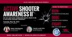 May 18: VIA Virtual Series to Present Active Shooter Awareness Training