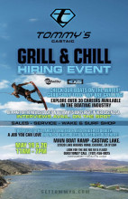 May 19, May 20: Tommy's Boats Grill & Chill Hiring Event