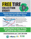 June 5: City Announces Free Tire Collection Event for All LA County Residents