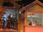 Firefighters Put Out Second Fire at Newhall Apartment Complex