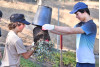 West Ranch Hockey Team Thanks City for Saving The Cube by Planting Acacias