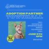 June 9: Animal Care & Control Adoption Partners Virtual Town Hall