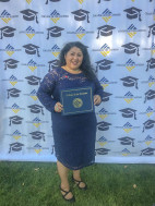 Domestic violence survivor, COC paralegal graduate, ready to pay forward