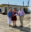 Zonta Contributes $25K for New Women's Lounge at Bridge to Home