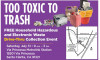 July 31: City to Host Free Hazardous Waste Drive-Thru Collection Event