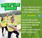 City Announces Recycle Hero TikTok Social Media Contest