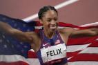 Felix hace historia con la undécima medalla y se convierte en el atleta más condecorado en la historia olímpica de EE. UU.