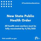 California ordena a los trabajadores de la salud que se vacunen por completo antes del 30 de septiembre