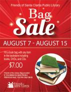 Aug. 7-15: Friends of Santa Clarita Library Hosting Summer Book Bag Sale