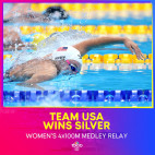 Saugus High Alumna Abbey Weitzeil Anchors Relay Team to Silver