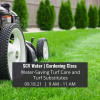 Learn All About Turf Maintenance at SCV Water's Upcoming Virtual Gardening Class